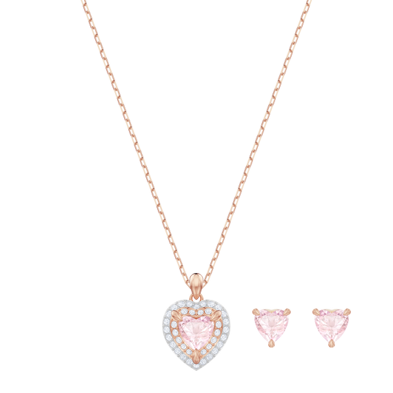 One Set, Multi-colored, Rose gold plating