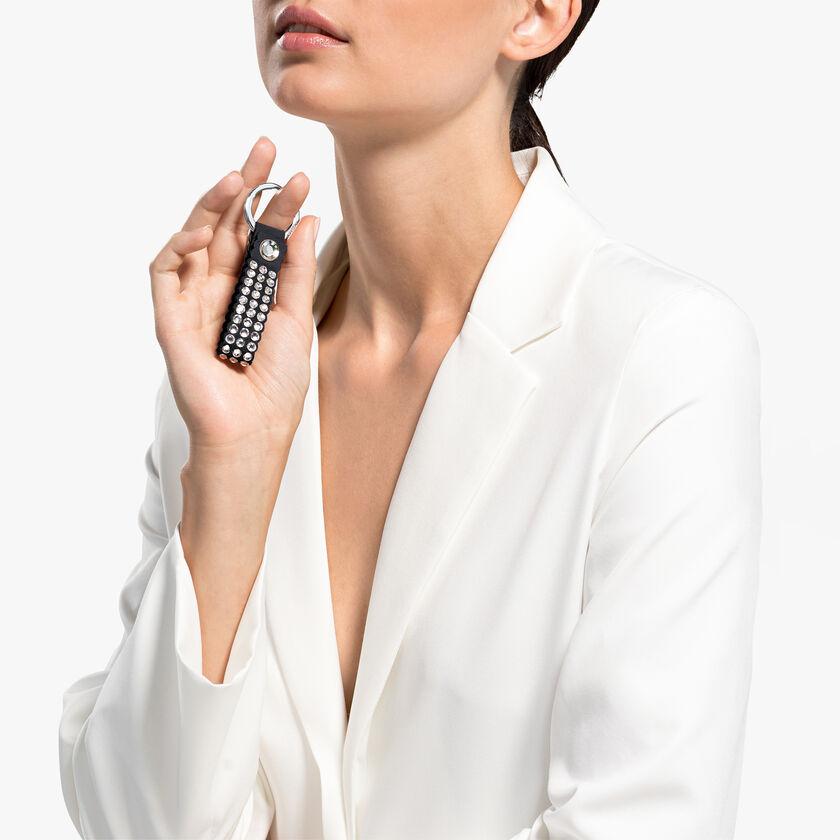 Swarovski Power Collection Key Ring, Black, Stainless steel