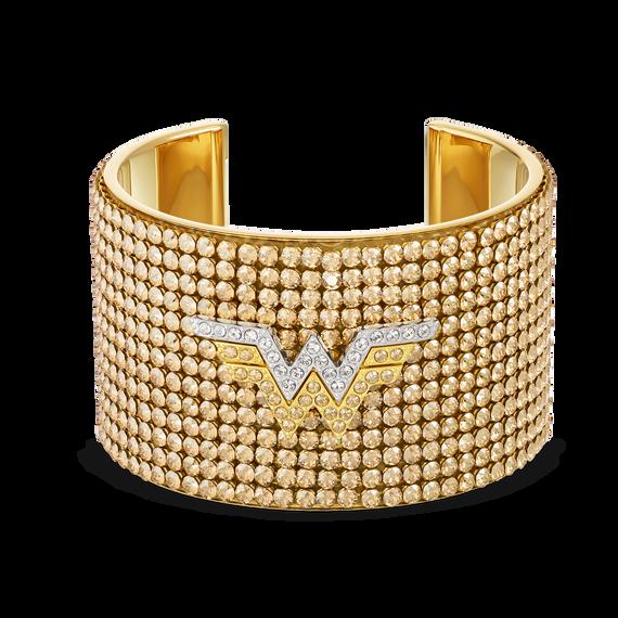 Fit Wonder Woman Cuff, Gold tone, Mixed metal finish