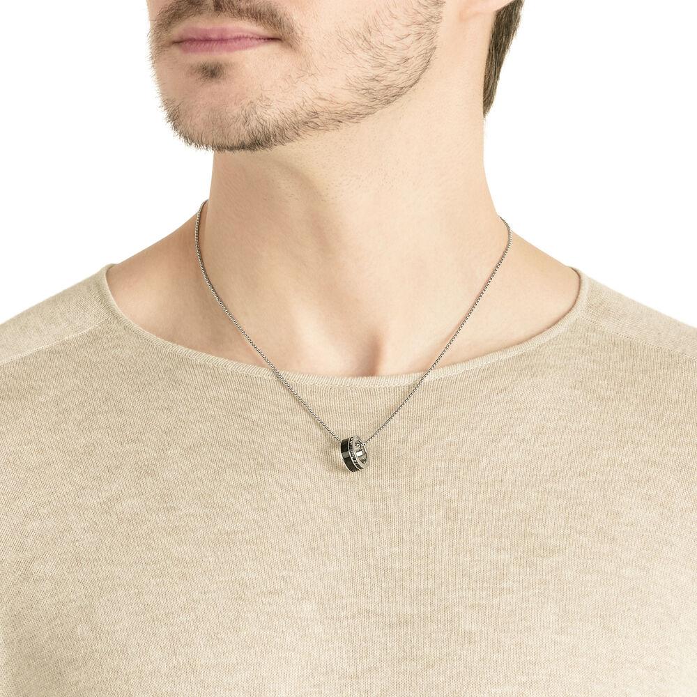 Alto Pendant, Gray, Stainless Steel