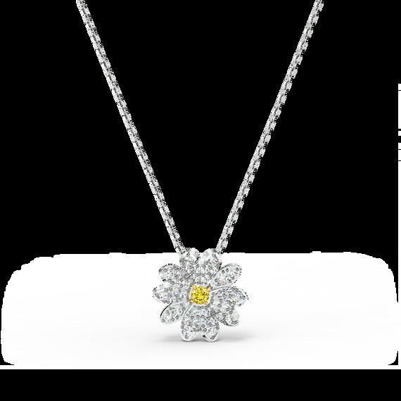 Eternal Flower Pendant, Yellow, Mixed metal finish