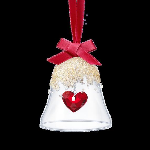 Christmas Bell Ornament, Heart